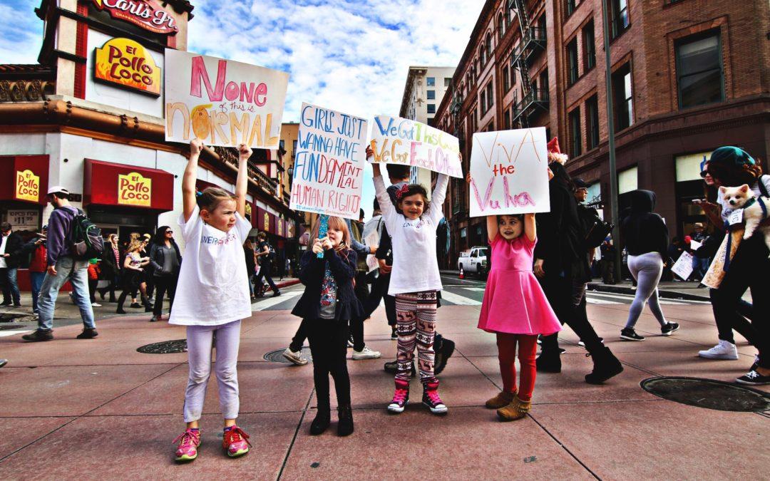 Internationale vrouwendag 2018: de strijd om gelijkheid